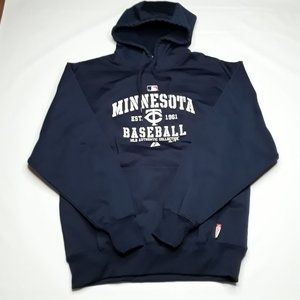 Majestic Minnesota Twins Hoodie MLB Sweatshirt